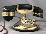 Automatic Electric Elite -Tall Cradle - Brass Version