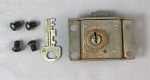 Western Electric 30c Vault lock and key set
