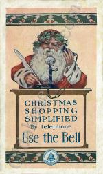 Christmas Shopping Simplified Postcard