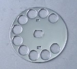 Western Electric Fingerwheel for No. 6 Dials - Chrome