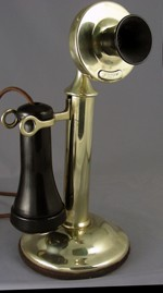 Model 20 Non-Dial Candlestick - Brass