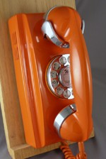 354 - Orange - Chrome Trim