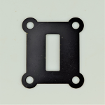 Black Switchook Escutcheon