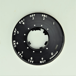 Western Electric 500/554 Dial Bezel - Black