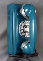 354 - Blue - Chrome Trim *Imperfections