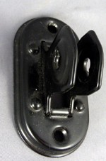 Transmitter Mount, Oval, Black - Original
