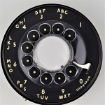 Western Electric - 500 Dial - Black