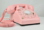Western Electric 500 U - Pink (Mushroom Light)