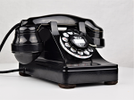 302 - Black - Pre War - E1 Handset - Metal Case