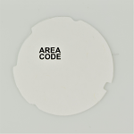 Automatic Electric Dial Card - White - Area Code