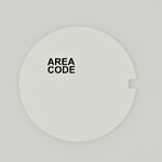 Western Electric Dial Card - White - Area Code