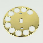 Western Electric Fingerwheel - Brass (No. 2, 4)