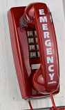 2554 Emergency Wall Phone