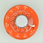 Western Electric - 500 Dial - Orange