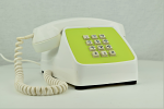 Automatic Electric Type 80 - White / Green - Touch Tone
