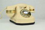 Automatic Electric Type 34 - Ivory with Brass Trim