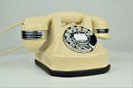 Automatic Electric Type 34 - Ivory with Chrome Trim