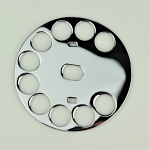 Western Electric Fingerwheel - Chrome (No. 6)