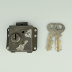 Automatic Electric - Vault Lock & Key - 10L - Re-Keyed (CLONE)