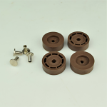 Feet - 500 / 2500 Brand New - Set of 4 with Hardware