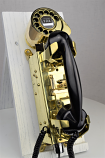 Navy Aircraft Carrier Telephone - Brass