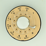 Western Electric - 500 Dial - Beige