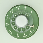 Western Electric - 500 Dial - Moss Green