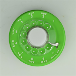 Western Electric - 500 Dial - Lime Green