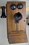 Kellogg Wood Wall Phone