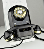 Automatic Electric Type 50 - Black - Brass Trim