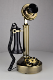 Reproduction Candlestick - Brushed Brass