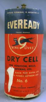 Eveready No 6 Dry Cell