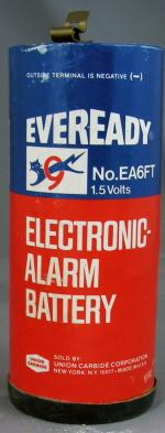 Eveready Dry Cell Electronic Alarm Battery