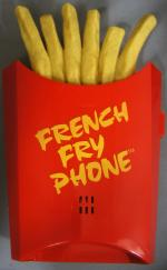 French Fry Novelty Phone
