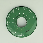 Automatic Electric Type 80/90 Dial Bezel - Green