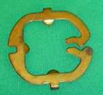 Western Electric Dial Card Rear Plate