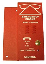 Emergency Elevator Phone - Red