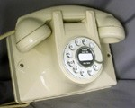 No. 2 Wall Phone - Ivory Finish