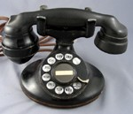 202 - Black - E1 Handset - Patina