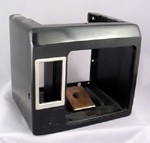 Northern Electric Black Payphone Bottom Shell