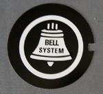 Western Electric Dial Card - Bell System