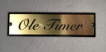 Ole Timer Badge