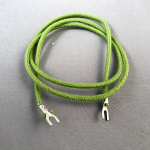 "Cord, Transmitter, Cloth, Green, Pin-Spade, 22"", for WE Vanity to Circuit Board"