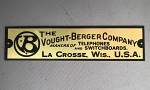 Vought-Berger Telephone Badge