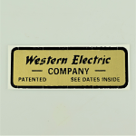 Water Decal - Western Electric Company
