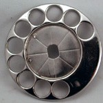 AK-33 Fingerwheel - Chromium Finish