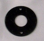 Crank Escutcheon, Black 1.5 Inch OD