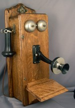 Canadian Indepentent Telephone Co. Wood Wallphone