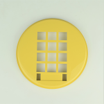 Western Electric 3554 Dial Bezel - Yellow