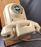 Automatic Electric Type 50 - Ivory with Brass Trim